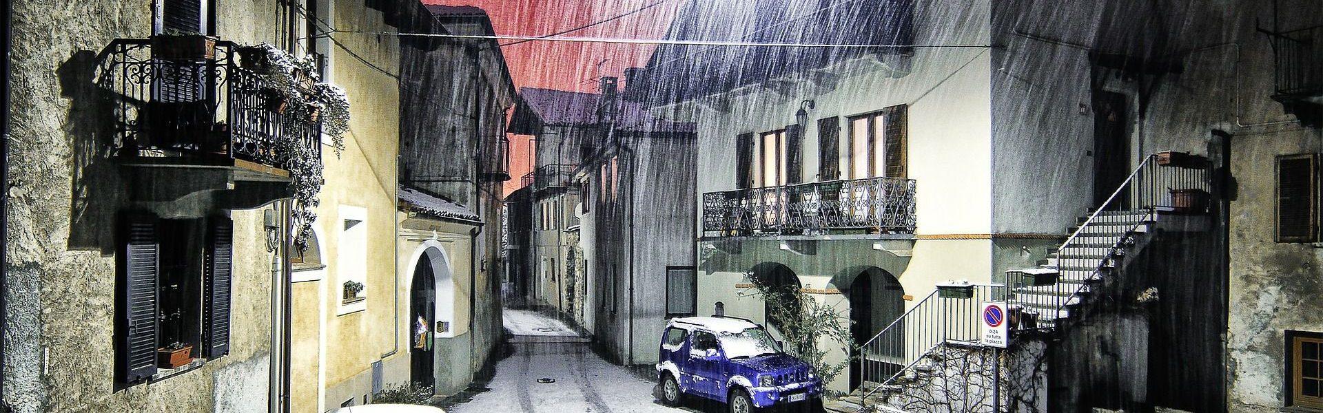 Śnieg na drogach